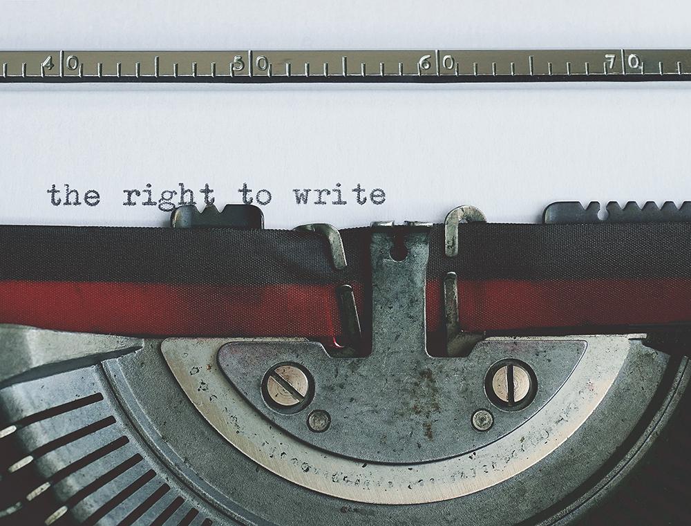 Il diritto di scrivere
